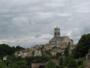 Bellac, vue actuelle