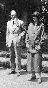 Jean et Suzanne en 1921