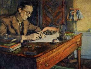 Giraudoux par Vuillard (1926)